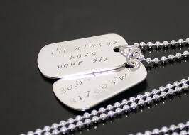 mens personalized dog tags sterling silver dog tags personalized mens dog tags