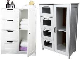 furniture simple white bedroom storage cabinets with 4 drawers