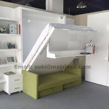 Wall Mounted Folding Bed Folding Bed Murphy Bed For Transformable Space Saving Wall