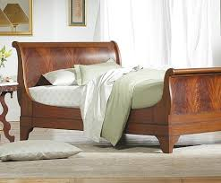 Solid Wood Sleigh Bed Chambord Mahogany Sleigh Bed Charles P Rogers Beds