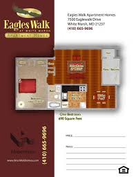 Eagle Homes Floor Plans by Apartments In White Marsh Md Near Baltimore U2013 Eagles Walk