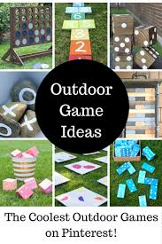Outdoor Party Games For Adults by Cool Diy Outdoor Game Ideas Outdoor Games Game Ideas And Gaming