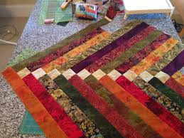 how to make a table runner with pointed ends french braid table runner ragstofishes