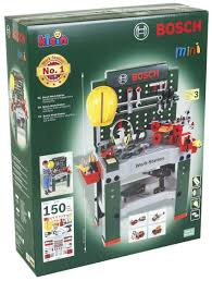 bosch no 1 2016 children kids work station workbench tool kit diy