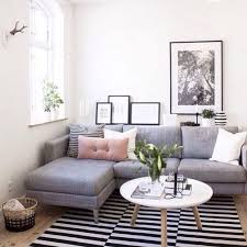 Sectional In Small Living Room Home Design Ideas - Small family room