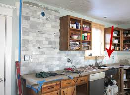 kitchen backsplash installation the craft patch diy marble subway tile backsplash tips tricks