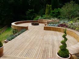 composite landscape timbers deck gardens ideas photograph browse home timber deckin