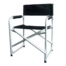 Folding Directors Chair Deluxe Tall Folding Director Chair With Side Table And Bag