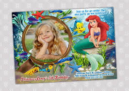 little mermaid party invitations u2013 gangcraft net