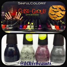 new sinful colors 2016 guise and gouls collection nail polish