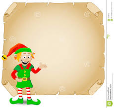 christmas martini clip art christmas elf and old parchment stock vector image 35858420