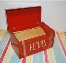 Red Kitchen Recipes - 940 best recipe boxes images on pinterest recipe box vintage