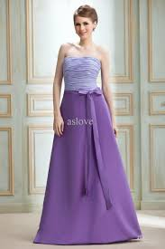two color wedding dress two colors strapless floor length chiffon satin bowknot