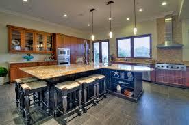 big kitchen island ideas red oak wood orange zest lasalle door large kitchen island ideas