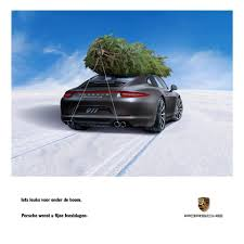 porsche family tree dutch ad for porsche line says