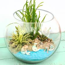Mermaid Decorations For Home Miniature Mermaid Gardens Are The Coolest Take On Fairy Gardens