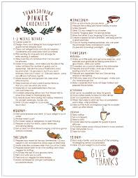 checklist 1 harvest thanksgiving menu planner
