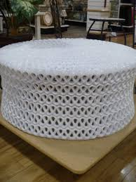 Make Storage Ottoman by How To Make An Ottoman From A Coffee Table