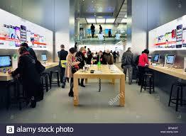 paris apple store paris france french shopping center general view inside apple