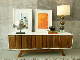 Narrow Sideboards And Buffets by Furniture Wood Buffets Credenzas And Sideboards With Modern