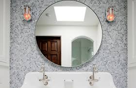 stylish design ideas round mirror bathroom bathroom mirrors