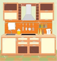 kitchen room furniture kitchen room clipart clipartxtras