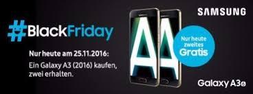 samsung black friday samsung galaxy a3 2016 zwei smartphones zum preis von einem am
