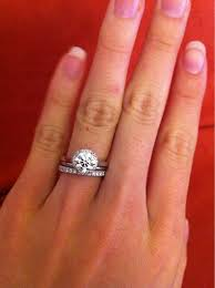 wedding band and engagement ring spacer between your engagement ring and wedding band purseforum