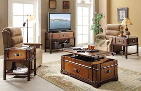 Trunk Coffee Table With Storage 5 Pieces Of Furniture With Secret Storage Compartments