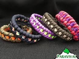 weave bracelet images Custom paracord bracelet fishtail weave with stripe jpg