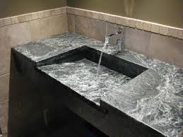 Bathroom Countertops And Sinks Soapstone Sinks Transitional Bathroom Philadelphia By