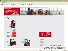 linde lindos 2011 spare parts catalog workshop service manual