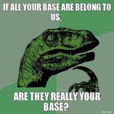 All Your Base Are Belong To Us Meme - saber all your base are belong to us by ida aasland boyum