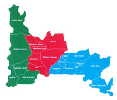 Map Of Nigerian States by Official Website Of The Ogun State Government Nigeria