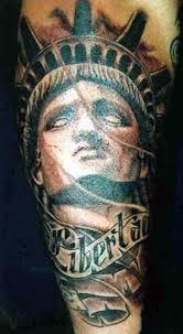 30 ultimate statue of liberty tattoos ideas