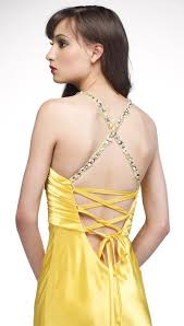 alyce designs form fitting prom dress 6582 with lace up back