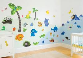 kids bedroom wall decoration with stickers and decals decor crave