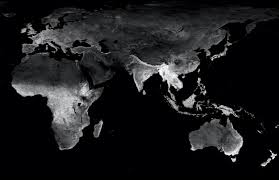 World At Night Map This Is What The World Would Look Like At Night If Vegetation Lit Up