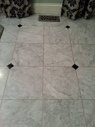 How To Get Bathroom Grout White Again - what do you use to clean grout on a honed marble floor hometalk