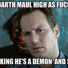 Darth Maul Meme - darth maul high as fuck by thesquare66 meme center