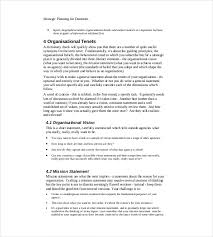 Strategic Planning Template Excel Strategy Template 19 Free Word Excel Pdf Document