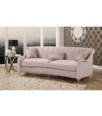 new arrivals isadora curved velvet sofa