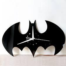 batman halloween decorations online get cheap batman wall clock acrylic aliexpress com