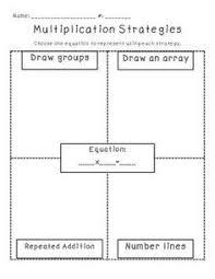 multiplication using arrays worksheets multiplication