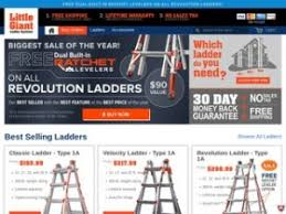Coupon Code Faucet Direct Little Giant Ladder Systems Coupons U0026 Little Giant Ladders Promo Codes
