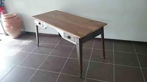 bureau m騁allique industriel chaises de industriel bureau bois fer metal maison design bahbecom