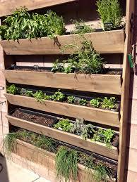 Garden Wall Planter by Stunning Wall Herb Garden 64 Regarding Home Decor Arrangement