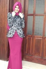 model baju 30 model baju batik muslim terbaru 2017
