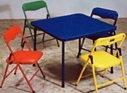 fold up children s table attractive folding childrens table and chairs kids furniture folding