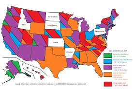 Marijuana Legalization Map Map Medical Marijuana Laws State By State Unnecessary